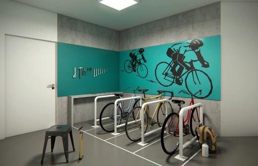 Bicicletario - Fachada - To Be Free - 190 - 5