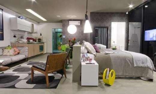 Living - Apartamento 2 quartos à venda Bela Vista, São Paulo - R$ 892.043 - II-5771-14009 - 5