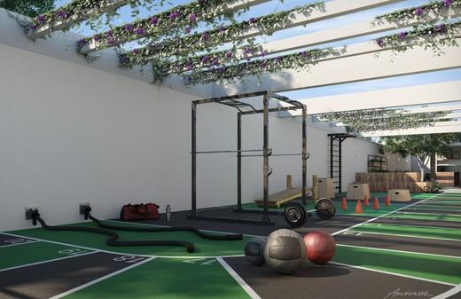 Fitness externo - Fachada - Campo dos Afonsos Residencial Club - 102 - 8