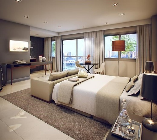 Dormitorio - Fachada - Neolink Office Mall & Stay - Residencial - 103 - 4