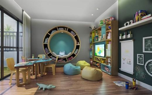 Espaco kids - Fachada - Life 360 Residences - 1257 - 9