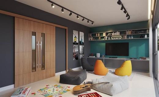 Sala de jogos - Fachada - Life 360 Residences - 1257 - 11