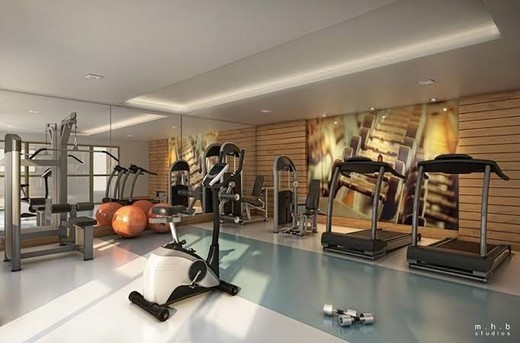 Fitness - Fachada - Liberty Personalité Residences - 105 - 2