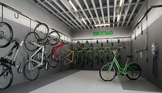 Bicicletario - Fachada - Life 360 Residences - 1257 - 12