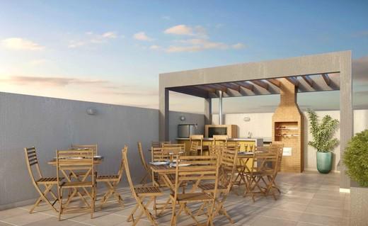 Churrasqueira - Fachada - Now Smart Residence Lafayette - 114 - 15