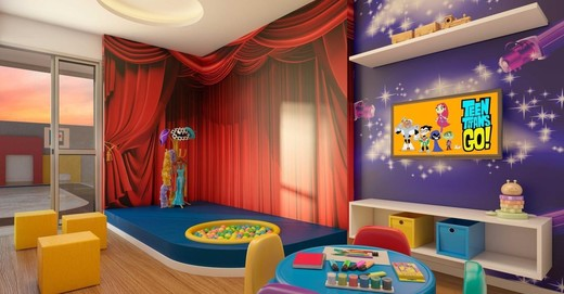 Espaco kids - Fachada - Now Smart Residence Vista Alegre - 115 - 8