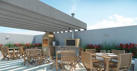 Churrasqueira - Fachada - Now Smart Residence Vista Alegre - 115 - 14