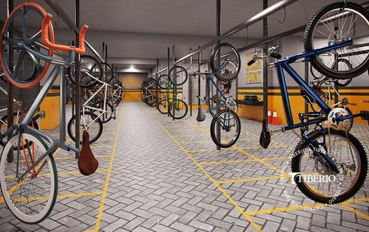 Bicicletario - Studio à venda Rua Doutor Nicolau de Souza Queirós,Vila Mariana, São Paulo - R$ 364.000 - II-5970-14289 - 16