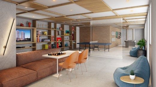 Lounge - Fachada - Helbor My Square - 645 - 7