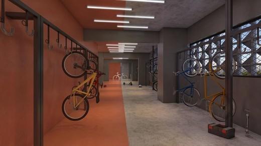 Bicicleatario - Studio à venda Rua Engenheiro Bianor,Butantã, Zona Oeste,São Paulo - R$ 321.339 - II-5967-14281 - 19
