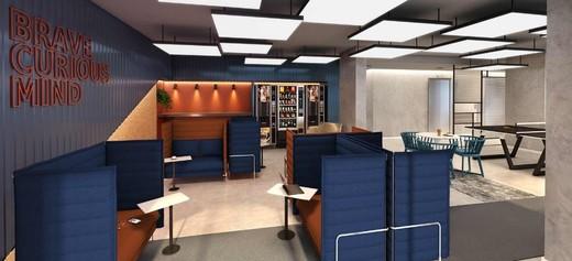 Coworking - Studio à venda Rua Engenheiro Bianor,Butantã, Zona Oeste,São Paulo - R$ 321.339 - II-5967-14281 - 8