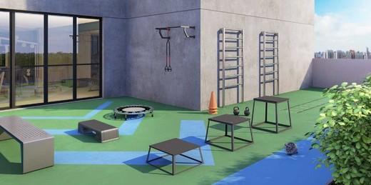 Fitness externo - Studio à venda Rua Engenheiro Bianor,Butantã, Zona Oeste,São Paulo - R$ 321.339 - II-5967-14281 - 10