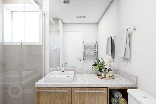 Banheiro - Apartamento 2 quartos à venda Vila Madalena, São Paulo - R$ 1.347.000 - II-5975-14298 - 3