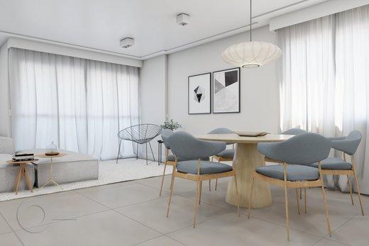 Living - Apartamento 2 quartos à venda Vila Madalena, São Paulo - R$ 1.347.000 - II-5975-14298 - 7
