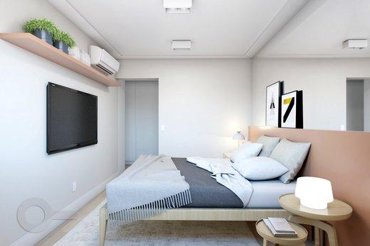 Quarto principal - Apartamento 2 quartos à venda Vila Madalena, São Paulo - R$ 1.347.000 - II-5975-14298 - 8