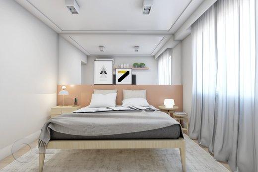 Quarto principal - Apartamento 2 quartos à venda Vila Madalena, São Paulo - R$ 1.347.000 - II-5975-14298 - 9