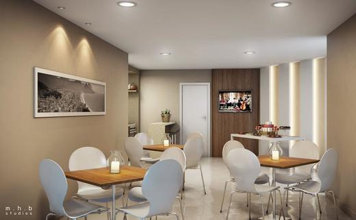 Salao de festas - Fachada - Now Smart Residence Cachambi - 126 - 6