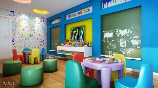 Espaco kids - Fachada - Now Smart Residence Cachambi - 121 - 7