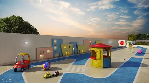 Playground - Fachada - Now Smart Residence Cachambi - 121 - 11