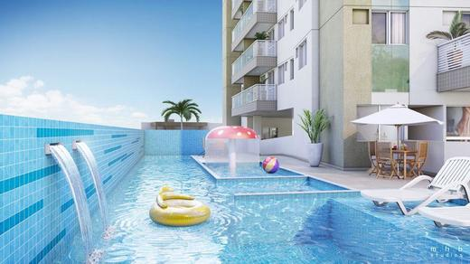 Piscina - Fachada - Now Smart Residence Cachambi - 121 - 14