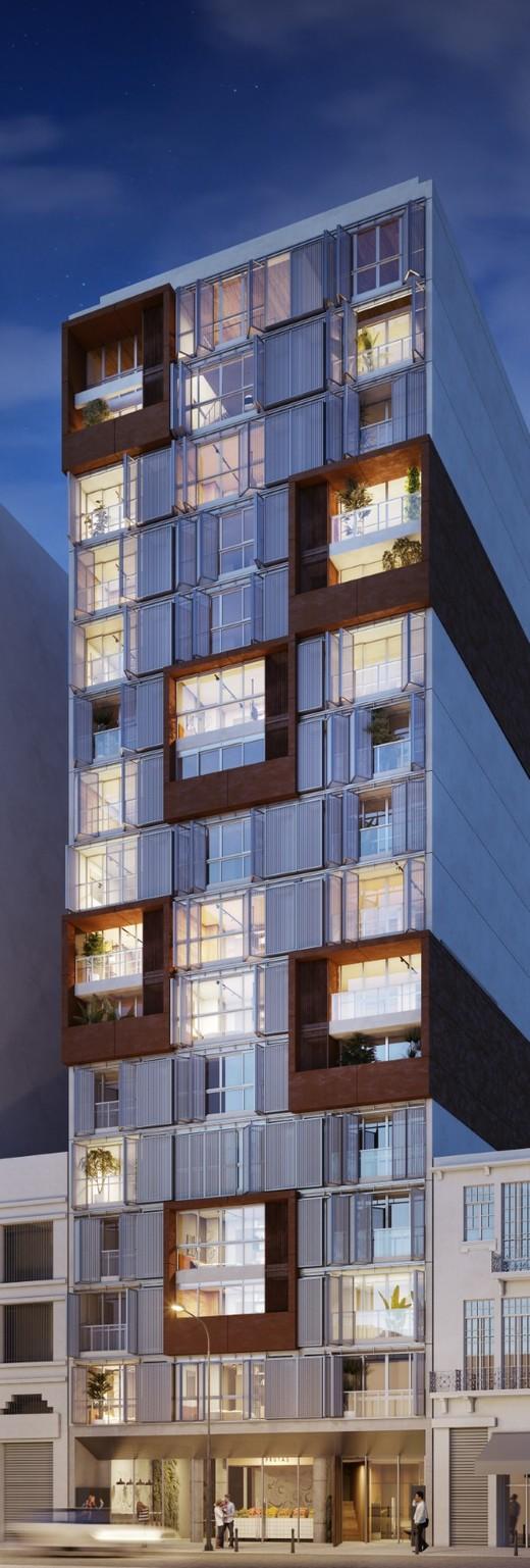 Fachada - Studio 1 quarto à venda Centro, Rio de Janeiro - R$ 467.600 - II-6006-14346 - 1