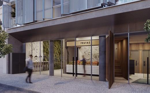 Portaria - Studio 1 quarto à venda Centro, Rio de Janeiro - R$ 467.600 - II-6006-14346 - 3