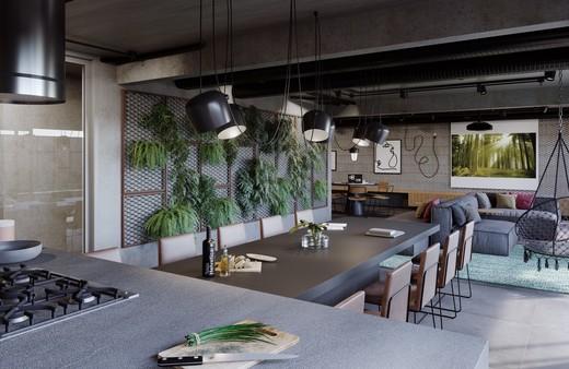 Living - Studio 1 quarto à venda Centro, Rio de Janeiro - R$ 467.600 - II-6006-14346 - 5