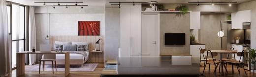 Living - Studio 1 quarto à venda Centro, Rio de Janeiro - R$ 467.600 - II-6006-14346 - 8