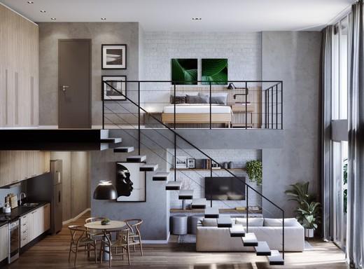 Living - Studio 1 quarto à venda Centro, Rio de Janeiro - R$ 467.600 - II-6006-14346 - 9
