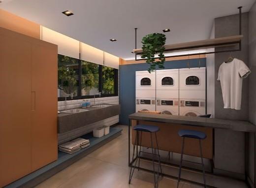 Lavanderia - Apartamento 1 quarto à venda Vila Madalena, São Paulo - R$ 377.834 - II-6009-14350 - 8