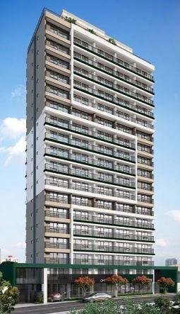 Fachada - Apartamento 1 quarto à venda Vila Madalena, São Paulo - R$ 377.834 - II-6009-14350 - 3