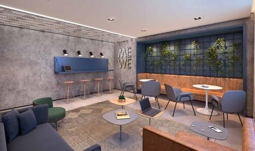 Coworking - Apartamento 1 quarto à venda Vila Madalena, São Paulo - R$ 377.834 - II-6009-14350 - 7