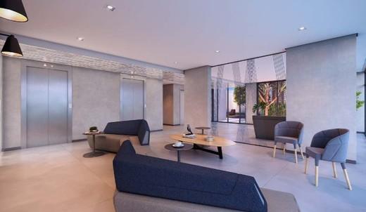 Hall - Apartamento 1 quarto à venda Vila Madalena, São Paulo - R$ 377.834 - II-6009-14350 - 6