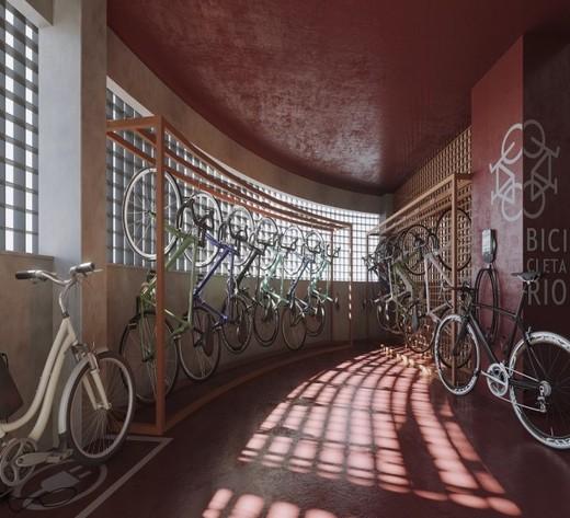 Bicicletario - Fachada - Maison Laranjeiras - 52 - 6