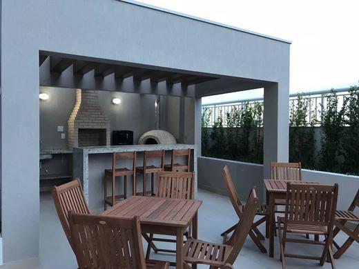 Churrasqueira - Fachada - Seleto Residencial Olaria - 164 - 11