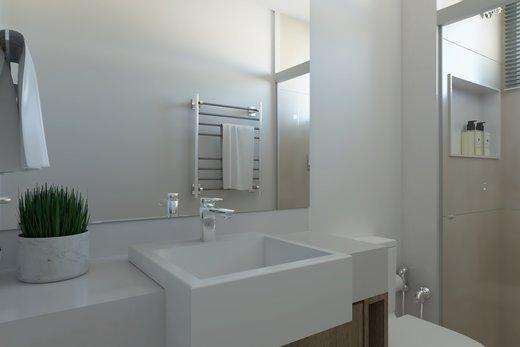Banheiro - Apartamento 2 quartos à venda Vila Madalena, São Paulo - R$ 1.473.000 - II-6033-14400 - 3