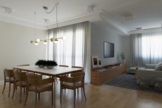 Living - Apartamento 2 quartos à venda Vila Madalena, São Paulo - R$ 1.473.000 - II-6033-14400 - 6