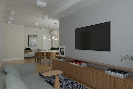 Living - Apartamento 2 quartos à venda Vila Madalena, São Paulo - R$ 1.473.000 - II-6033-14400 - 7