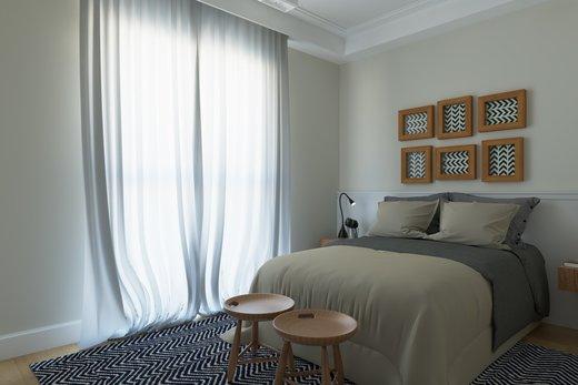 Quarto principal - Apartamento 2 quartos à venda Vila Madalena, São Paulo - R$ 1.473.000 - II-6033-14400 - 8