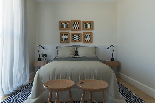 Quarto principal - Apartamento 2 quartos à venda Vila Madalena, São Paulo - R$ 1.473.000 - II-6033-14400 - 9