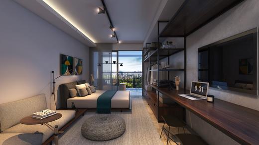 Dormitorio - Fachada - Breve Lançamento - Trends Brooklin - 648 - 4