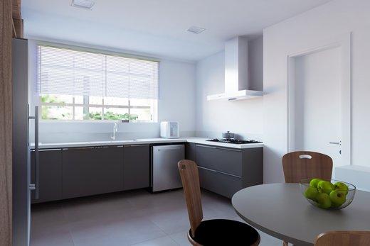 Cozinha - Apartamento à venda Rua Jaques Félix,Vila Nova Conceição, Zona Sul,São Paulo - R$ 3.410.000 - II-4733-12017 - 1