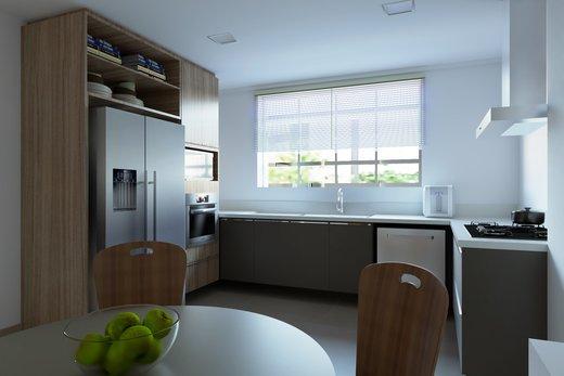 Cozinha - Apartamento à venda Rua Jaques Félix,Vila Nova Conceição, Zona Sul,São Paulo - R$ 3.410.000 - II-4733-12017 - 3