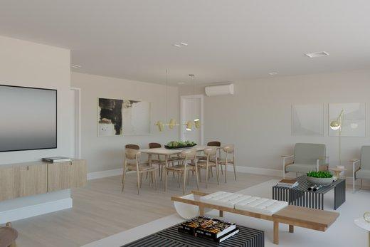 Living - Apartamento à venda Rua Jaques Félix,Vila Nova Conceição, Zona Sul,São Paulo - R$ 3.410.000 - II-4733-12017 - 4