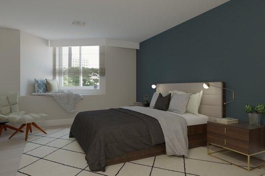 Quarto principal - Apartamento à venda Rua Jaques Félix,Vila Nova Conceição, Zona Sul,São Paulo - R$ 3.410.000 - II-4733-12017 - 6