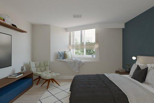 Quarto principal - Apartamento à venda Rua Jaques Félix,Vila Nova Conceição, Zona Sul,São Paulo - R$ 3.410.000 - II-4733-12017 - 7