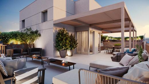 Terraco - Apartamento à venda Rua Andrade Fernandes,Alto de Pinheiros, São Paulo - R$ 4.712.053 - II-1467-5597 - 22