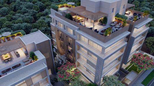Fachada - Apartamento à venda Rua Andrade Fernandes,Alto de Pinheiros, São Paulo - R$ 4.712.053 - II-1467-5597 - 5