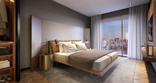 Dormitorio - Apartamento à venda Rua Andrade Fernandes,Alto de Pinheiros, São Paulo - R$ 4.712.053 - II-1467-5597 - 16