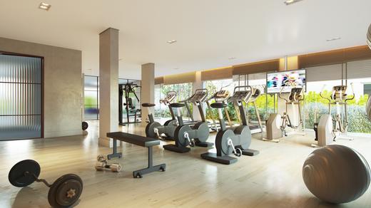 Fitness - Apartamento à venda Rua Andrade Fernandes,Alto de Pinheiros, São Paulo - R$ 4.712.053 - II-1467-5597 - 17